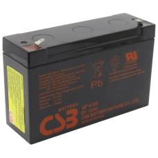 CSB Аккумуляторная батарея GP 6120 F2 (6V, 12Ah@20hr) для ИБП