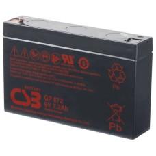 CSB Аккумуляторная батарея GP 672 F2 (6V, 7.2Ah@20hr) для ИБП
