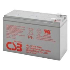 CSB Аккумуляторная батарея HRL 1234W F2 (12V, 9Ah, 34W/cell@15min) для ИБП