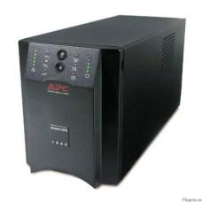 ИБП линейно-интерактивный APC Smart-UPS 1500ВА/980Вт, 4xАккумулятора 12В 17Ач (RBC7) - в комплект не входит! черный