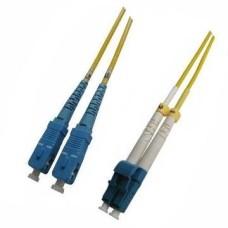 Patch Cord Fiber Optic SC/LC, Duplex, 9/125μm, 1m