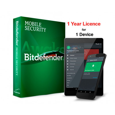 (BTD879) - Bitdefender Mobile Security for Android (лицензия на один год)