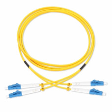 Patch Cord Fiber Optic SC/SC, Duplex, 9/125μm, 1m
