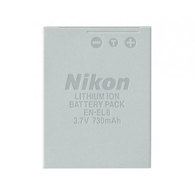 (37667) - Battery pack Nikon EN-EL8 (for COOLPIX S50, S51)