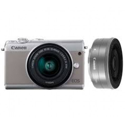 (86425) - Canon EOS M100 Grey KIT + EF-M 15-45 IS STM