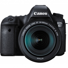 DC Canon EOS 6D + EF 24-105mm f/3.5-5.6 IS STM KIT 36x24mm CMOS