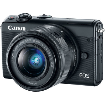 (86424) - Canon EOS M100 Black KIT + EF-M 15-45 IS STM