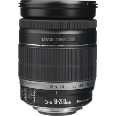 (33262) - Zoom Lens Canon EF-S 18-200mm f/3.5-5.6 IS