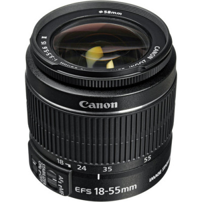 (47193) - Zoom Lens Canon EF-S 18-55mm f/3.5-5.6 IS II