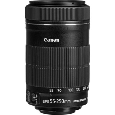 ( 72033) - Zoom Lens Canon EF-S 55-250mm f/4.0-5.6 IS STM