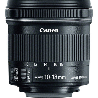 (74132) - Zoom Lens Canon EF-S 10-18mm F/4.5-5.6 IS STM