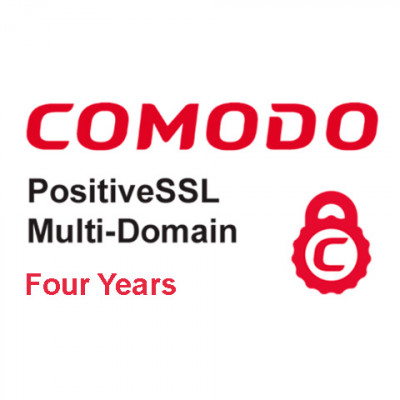 (CMD854) - Positive Multi Domain SSL Certificate (четыре года)