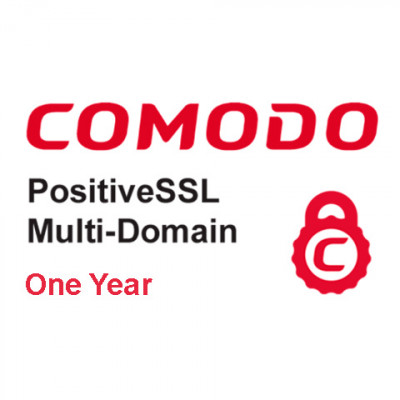 (CMD851) Positive Multi Domain SSL Certificate (one year)