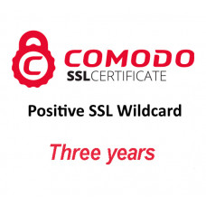 Positive SSL Wildcard (three years)