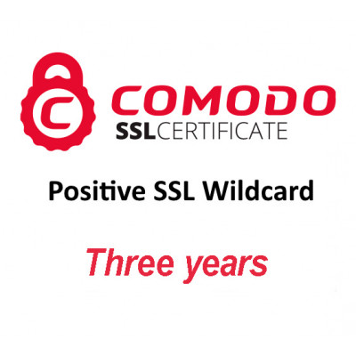 (CMD845) - Positive SSL Wildcard (три года)