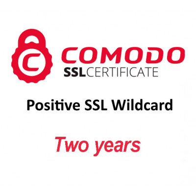 (CMD844) Positive SSL Wildcard (two years)