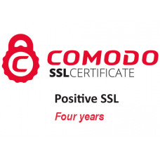 Positive SSL Certificate (four years)