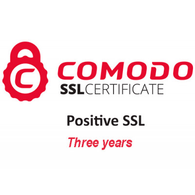 (PSSL3) Positive SSL Certificate (three years)