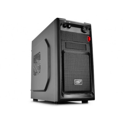 """(XDC-SMARTER) - DEEPCOOL """"SMARTER"""" Micro-ATX Case, without PSU, Fully black painted interior"""