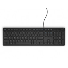 Dell KB216 Multimedia Keyboard, Russian (QWERTY),Black (580-ADGR)