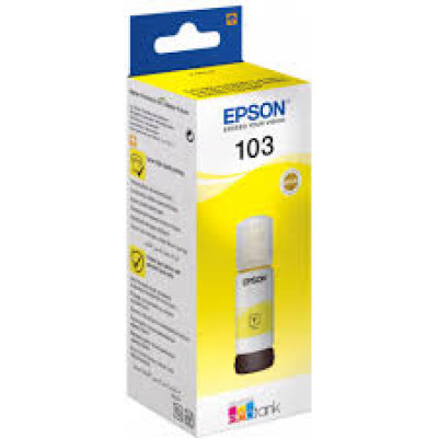 (91846) - Ink  Epson T00S44A, 103 EcoTank Yellow ink bottle
