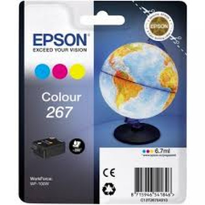 (82098) - Ink Cartridge Epson C13T26704010 Tri-color for WF-100