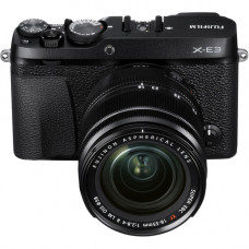 Fujifilm X-E3  XF18-55mm Kit black