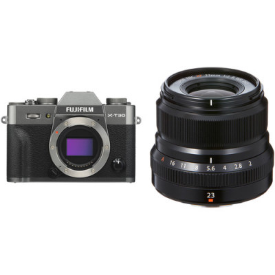 (FJF1042) - Fujifilm X-T30 Сarcoal silver/XF18-55mm Kit