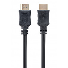 "Cable HDMI - 1m - Cablexpert CC-HDMI4L-1M ""Select Series"", male-male, High speed HDMI cable with Ethernet, Supports 4K UHD resolutions at 60Hz, Gold plated connectors, Black"