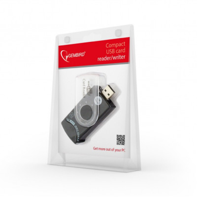 (FD2-ALLIN1-C1) - Compact USB Card reader/writer Gembird USB 2.0