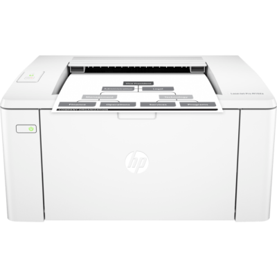 (G3Q34A) - Принтер HP LaserJet Pro M102a A4, up to 22 ppm, 7.3s first page, 1200 dpi, 128MB, Up to 10000 pages/month, USB 2.0