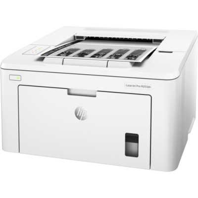 (G3Q46A) - Принтер HP LaserJet Pro M203dn A4, up to 28 ppm, 6.7s first page, 1200 dpi, 256MB, Duplex, Up to 30000 pages/month, USB 2.0, Ether 10/100, PCL5c, PCL6, Postscript, HP ePrint