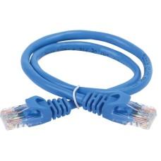 ITK Коммутационный шнур (патч-корд) кат.5E UTP 0,5м синий PC03-C5EU-05M