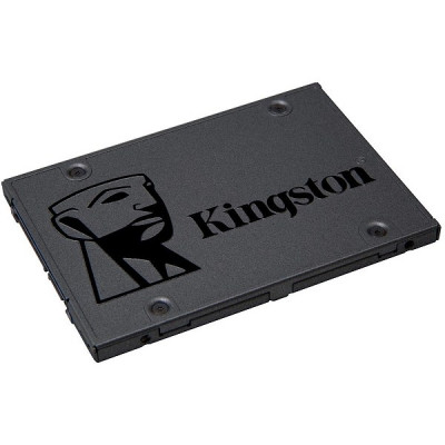 "(SA400S37/120G) - SSD 2.5"" 120GB Kingston A400, SATA III 6Gb/s, ATTO R/W: 500/320 MB/s, TBW: 40TB, NAND 3D TLC, 1 million hours MTBF"