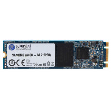 M.2 SATA SSD 240GB  Kingston A400, Interface: SATA III 6Gb/s, M.2 Type 2280 form factor, Sequential Reads:500 MB/s, Sequential Writes:350 MB/s, 7mm, Controller Phison PS3111, 3D NAND TLC