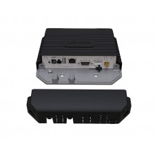 LtAP LTE kit, A heavy-duty 2.4GHz access point with extra miniPCI-e slot, three SIM slots, GNSS support (GPS, GLONASS, BeiDou, Galileo) and LTE modem for International bands 1,2,3,7,8,20,38 and 40