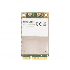 R11e-LTE6 2G/3G/4G/LTE miniPCI-e card with carrier aggregation support (up to 300 Mbps) for bands 1/2/3/5/7/8/12/17/20/25/26/38/39/40/41n