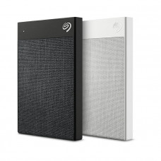 """External  2.5"""" HDD 1.0TB (USB3.0/USB-C)  Seagate """"Backup Plus Ultra Touch"""", Black, Hardware Encryption,  Durable design, Refined and understated, Cozy and textured."""