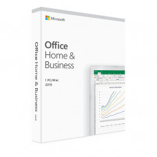 Office Home and Business 2019 32/64-bit English (perpetual license in box)
