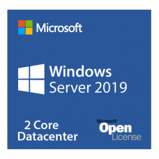 Microsoft Windows Server DataCenter Core 2019 Single Language Qualified (OLP corporate license for 2 physical cores)
