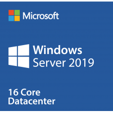 Microsoft Windows Server DataCenter Core 2019 Single Language Qualified (OLP corporate license for 16 physical cores)