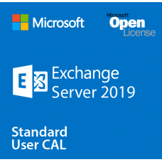 Microsoft Exchange Server Standard CAL per 1 user (Open Value license for 1 Year Acquired Year 1 with Software Assurance)
