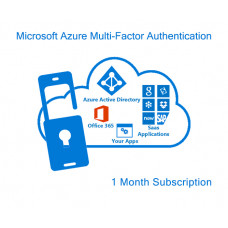 Microsoft Azure Multi-Factor Authentication (monthly subscription for 1 user)