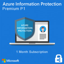 Azure Information Protection P1 (monthly subscription for 1 user)