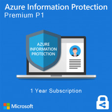 Azure Information Protection P1 (annually subscription for 1 user)