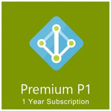 Azure Active Directory Premium P1 (annually subscription for 1 user)