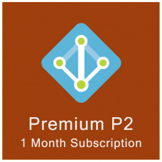 Azure Active Directory Premium P2 (monthly subscription for 1 user)