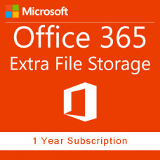 Office 365 Extra File Storage (annually subscription for 1 user)
