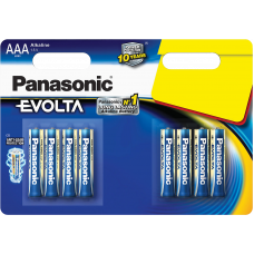 "Panasonic ""EVOLTA"" AAA Blister*4, Alkaline, LR03EGE/8BP"