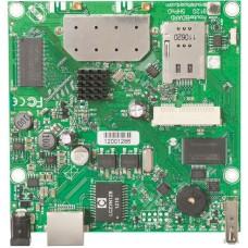 RB912UAG-5HPnD 600MHz CPU, 64MB RAM, 1xGigabit Ethernet, onboard 5Ghz wireless, miniPCI-express, USB, SIM slot, RouterOS L4